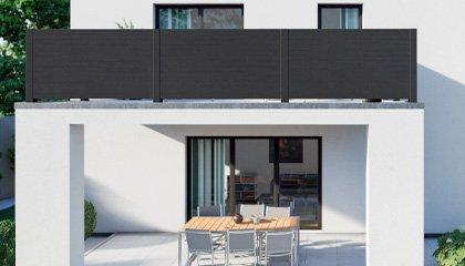 Geländer Design Aluminium