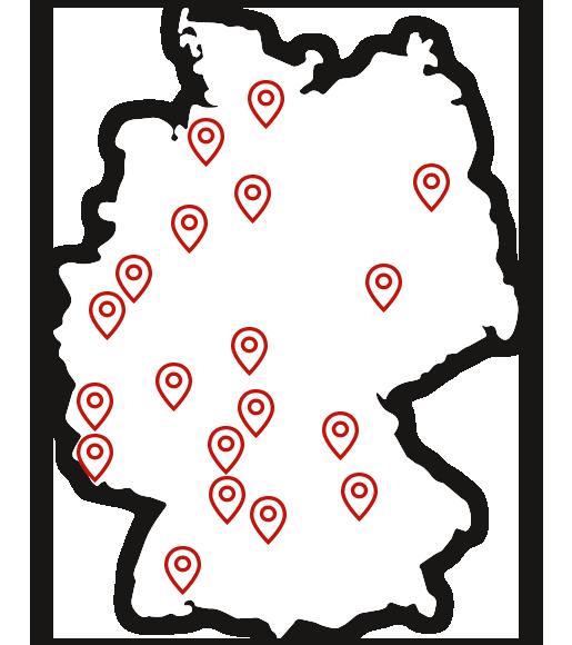 KD Standorte